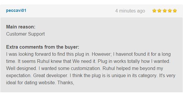 WordPress, BuddyPress Users Chat Plugin - 6