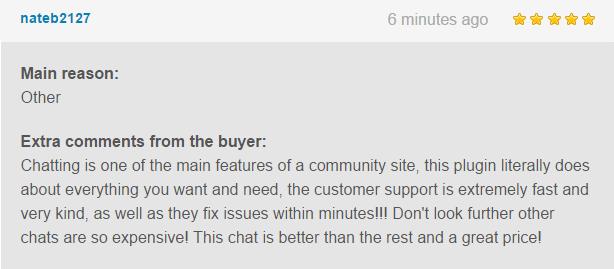 WordPress, BuddyPress Users Chat Plugin - 5